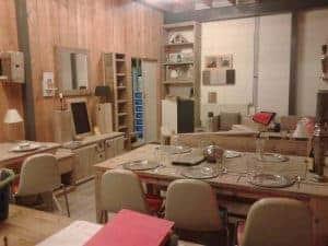 Meubelen van steigerhout showroom 3