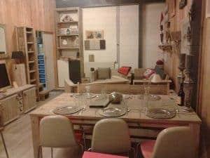 Meubelen van steigerhout showroom 6