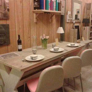Meubelen van steigerhout showroom 10