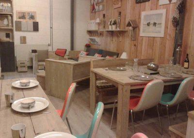 Showroom meubelen van steigerhout 5