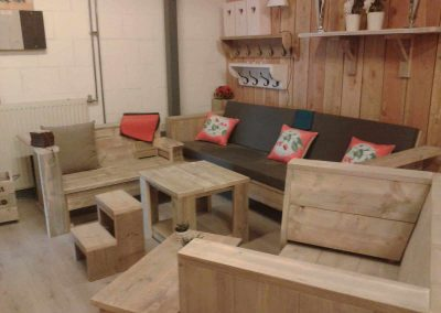 Showroom meubelen van steigerhout 7