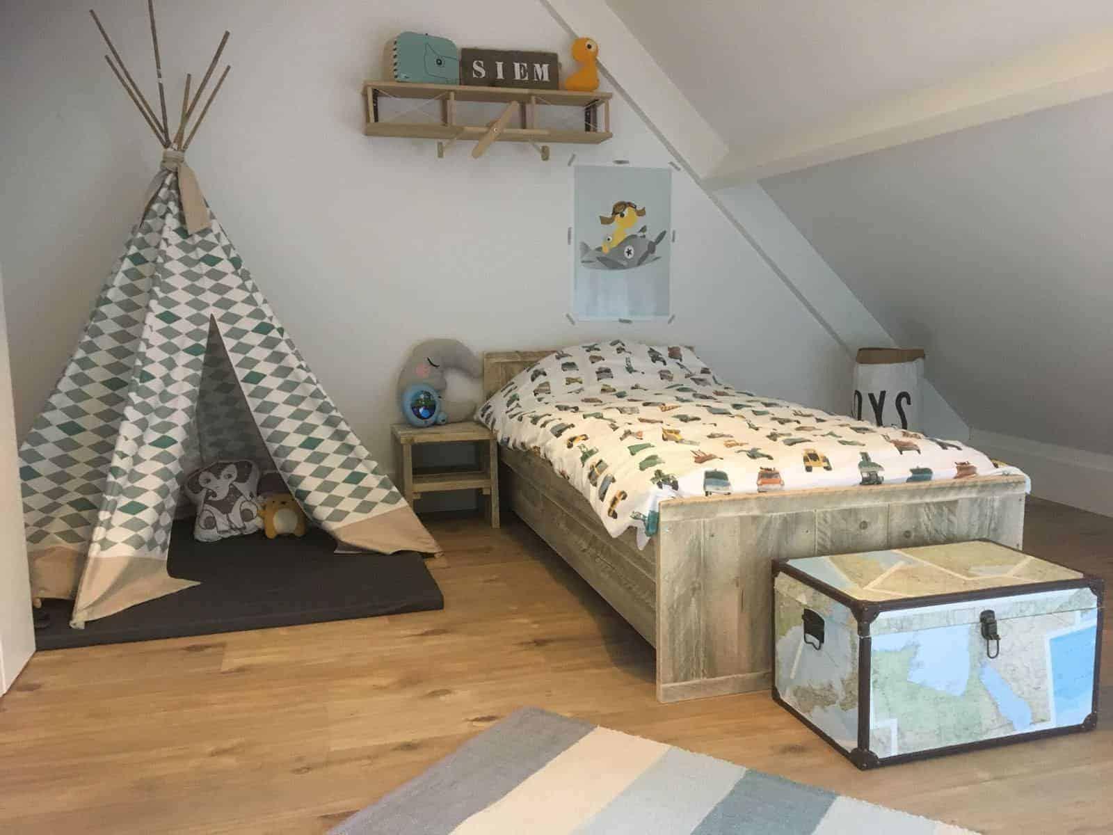 Complete kinderkamer van steigerhout bij meubelenvan steigerhout uit