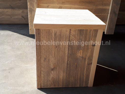 Steigerhout hocker 40x40x45 cm