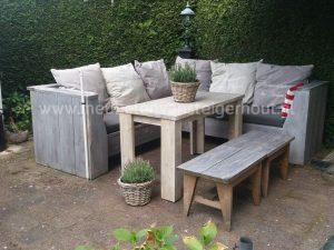 Loungetafel om aan te eten Lounge & dining