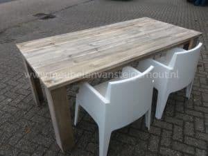 Simpel goedkoop Bsmart eettafel tuintafel steigerhout
