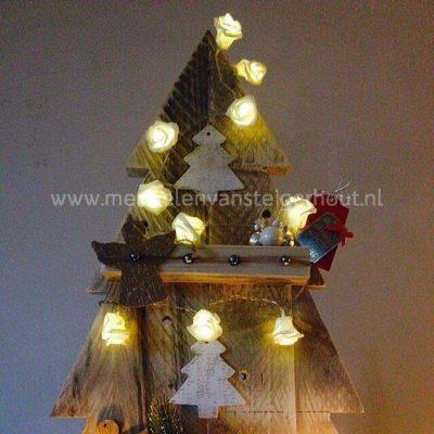 Steigerhouten kerstboom klein