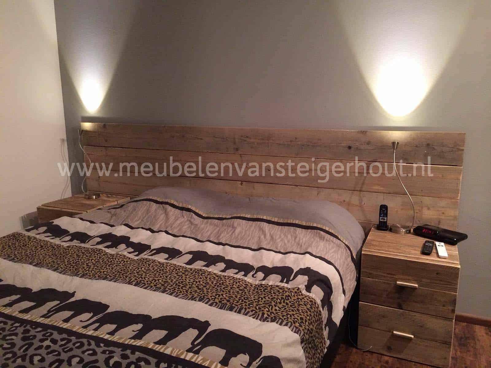 Slaapkamer | Meubelen van Steigerhout