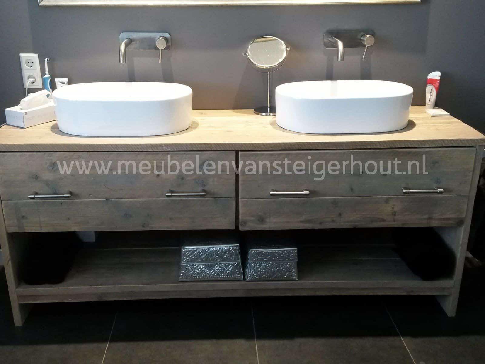 badmeubel steigerhout 15 meubelen van steigerhout