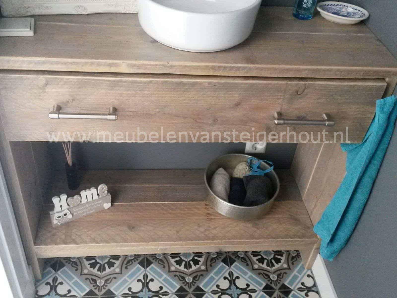 steigerhout badkamermeubel type 6 meubelen van steigerhout