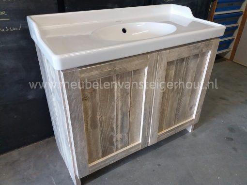 Badkamerkast met Ikea wastafel type 7 2