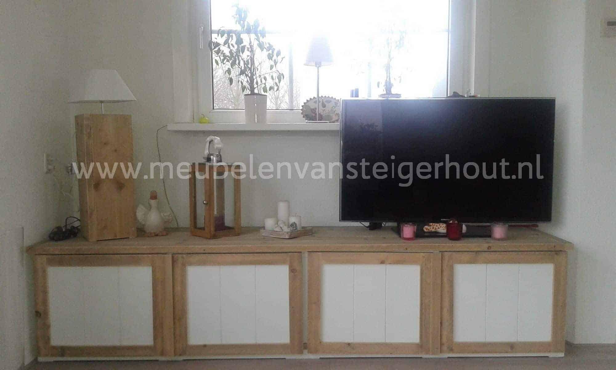 Tv Meubel Kast Steigerhout.Tv Meubel Steigerhout 9 Meubelen Van Steigerhout