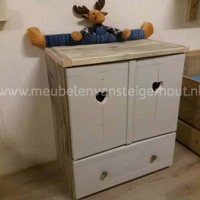 Commode hartjes mint2