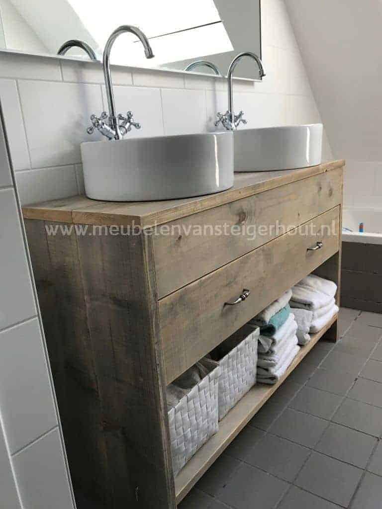 badmeubel steigerhout 8 meubelen van steigerhout