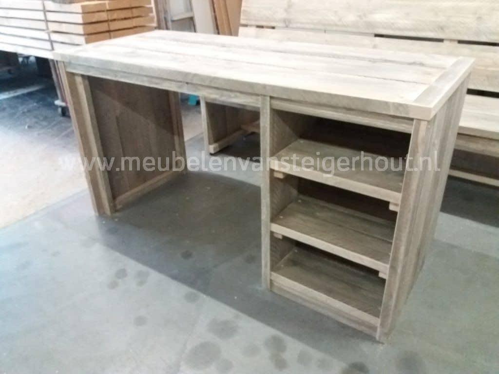 Kinderbureau b smart eva meubelen van steigerhout for Bureau van steigerhout maken