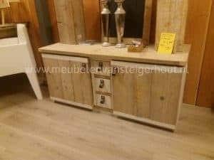 Steigerhouten TV meubel SALE