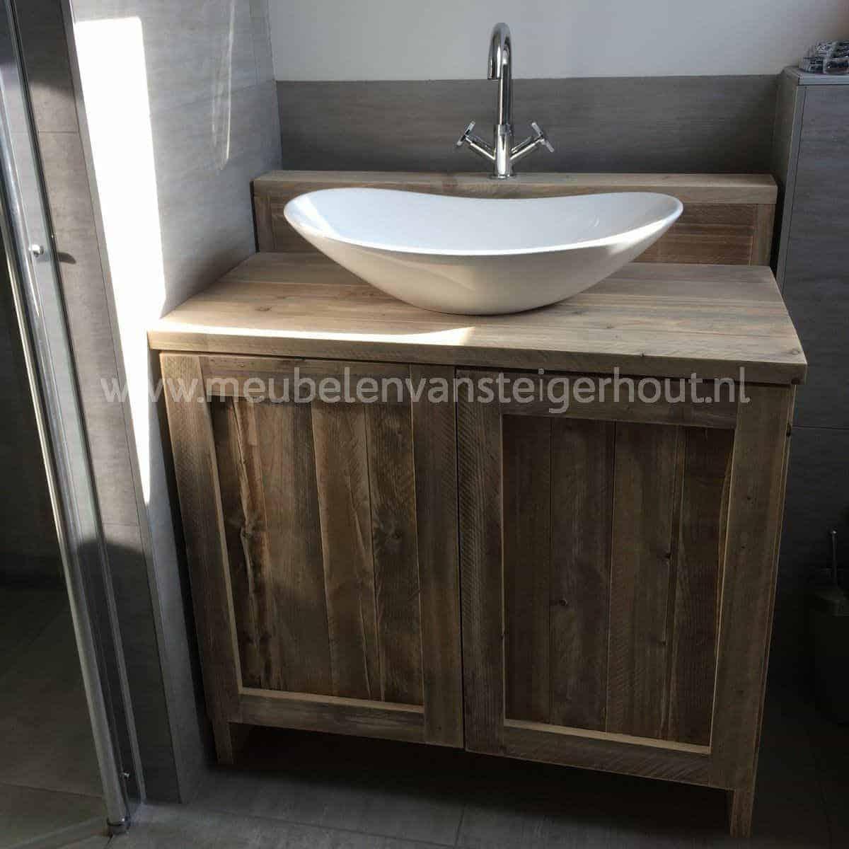 badmeubel steigerhout 12 meubelen van steigerhout