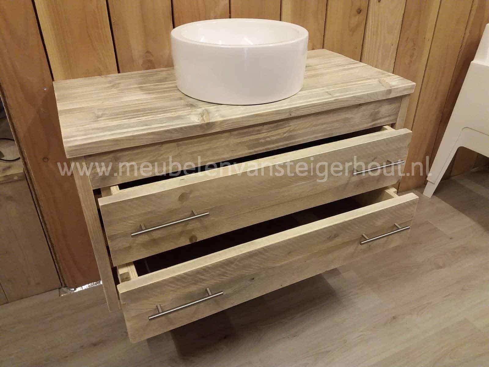 badmeubel steigerhout 14 meubelen van steigerhout