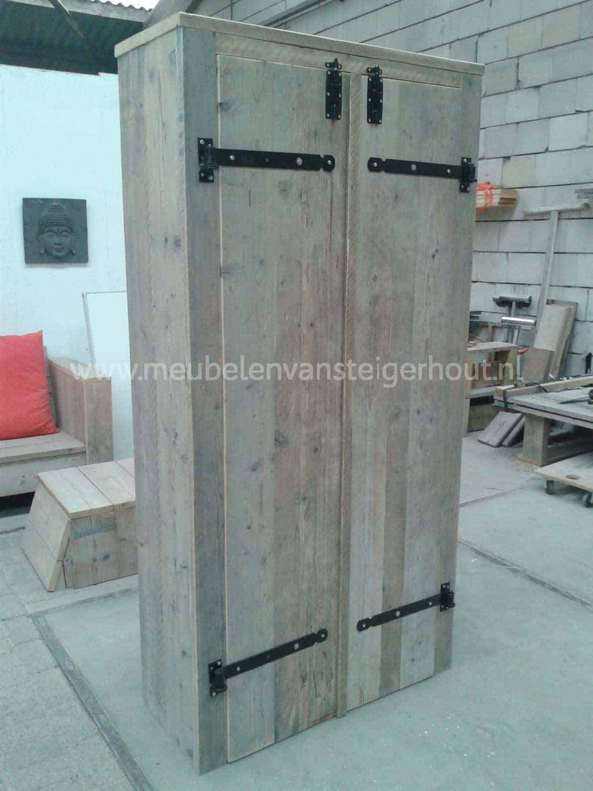kledingkast sam meubelen van steigerhout