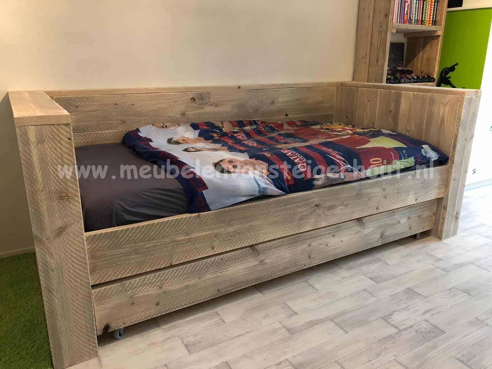 Verrassend Bedbank Jelle | Meubelen van Steigerhout MQ-11