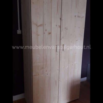 Steigerhout kledingkast goedkoop
