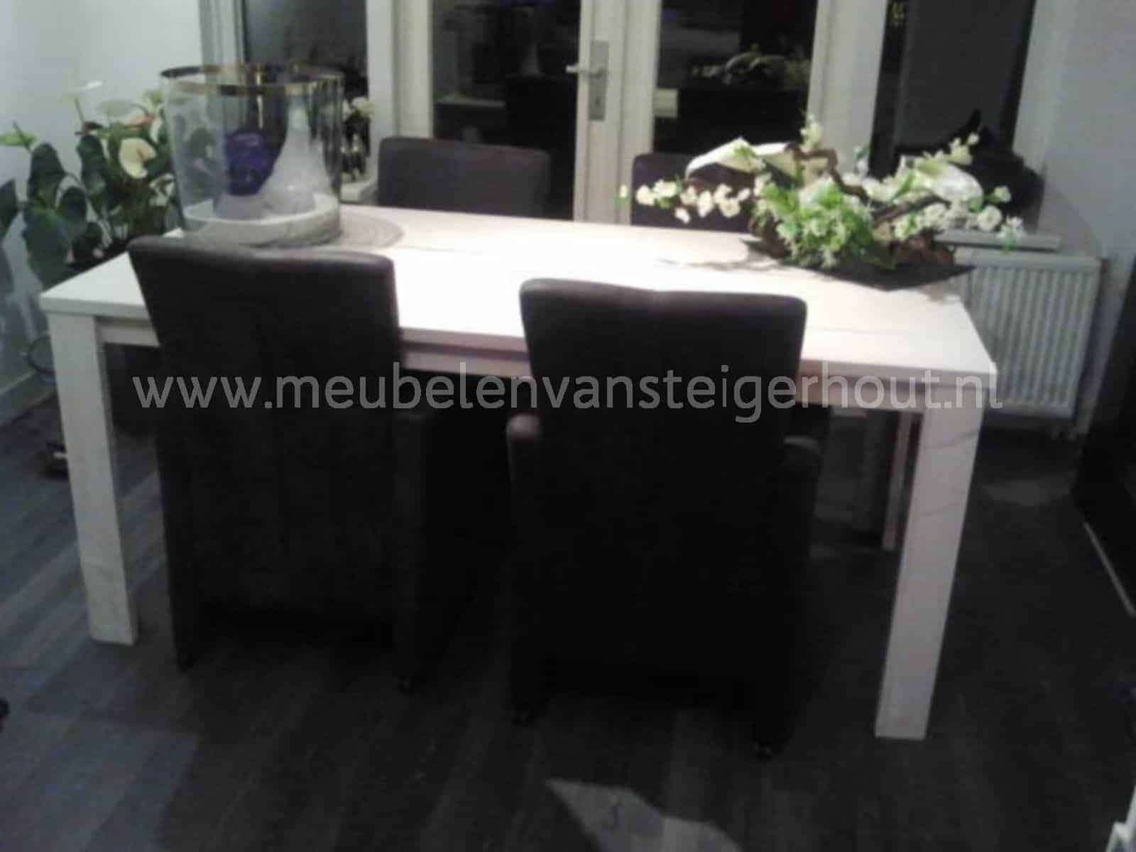 Doe het zelf tafel cm breed meubelen van steigerhout
