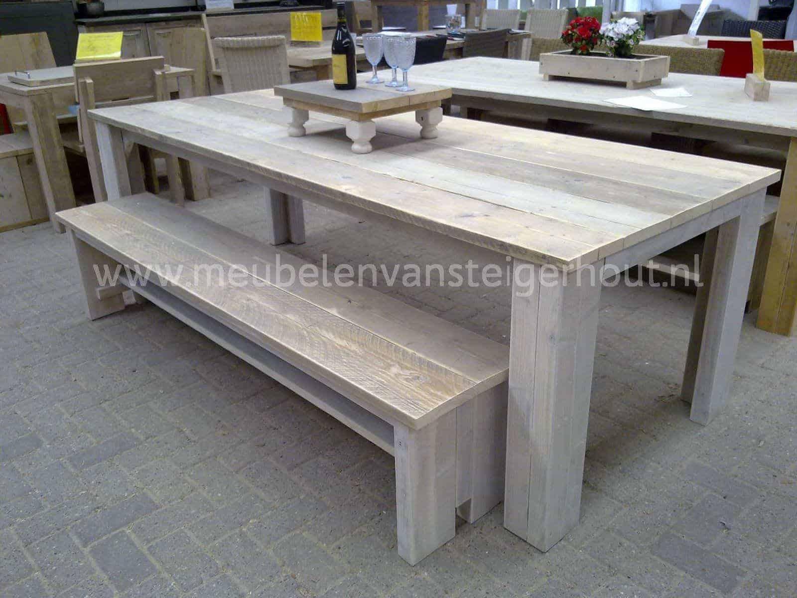 Tafel steigerhout woodandrestyle