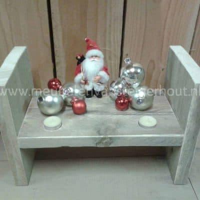 Decoratie steigerhout kerst