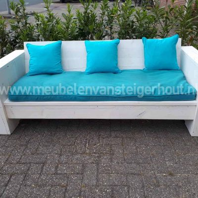 SALE steigerhout loungebank