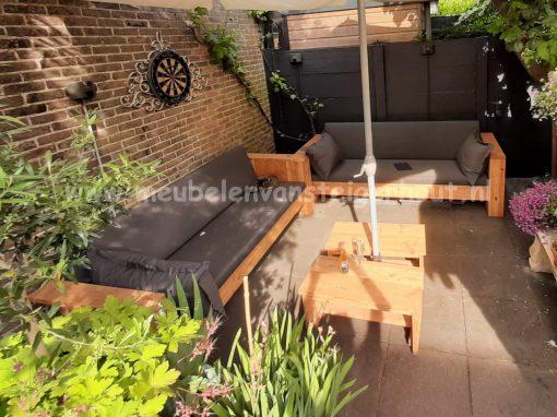 Douglas loungebank duurzaam steigerhout