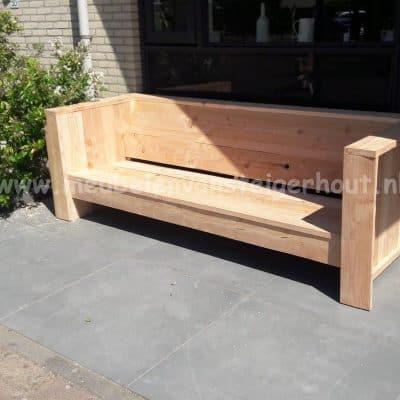 Douglas loungebank van douglas steigerhout