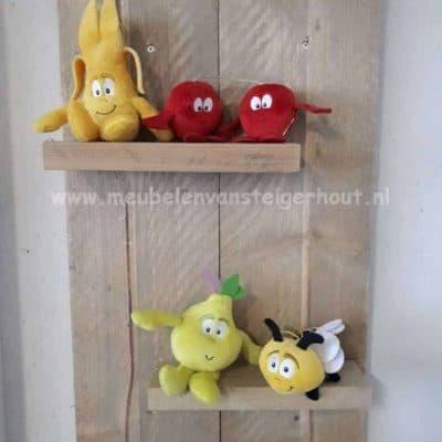 Steigerhout wandbord mer 2 planken