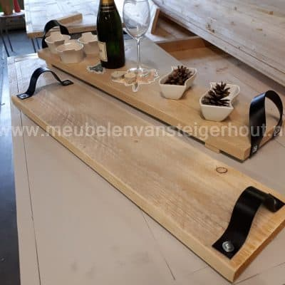 Black friday deal: Borrelplank steigerhout